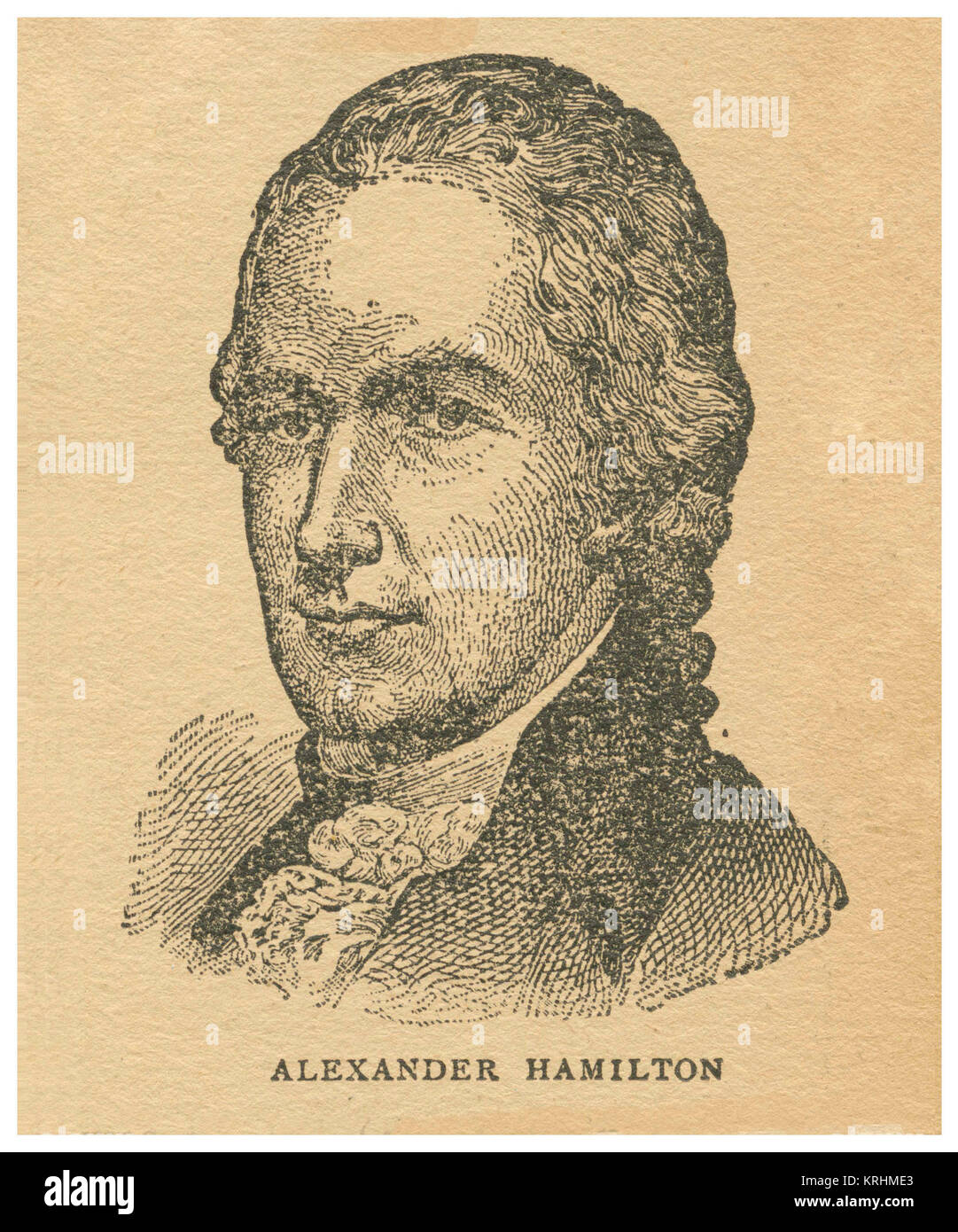 Alexander Hamilton - Stock Image