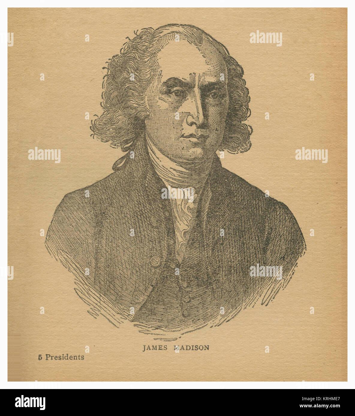 James Madison - Stock Image