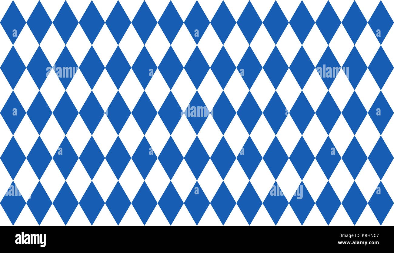 argyle dark blue and white - Stock Image