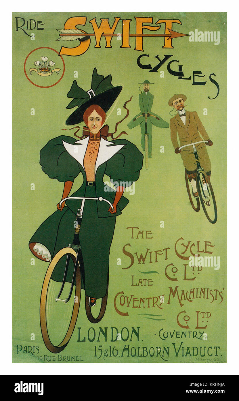 vintage Hercules  advert  poster reproduction. Go Cycling