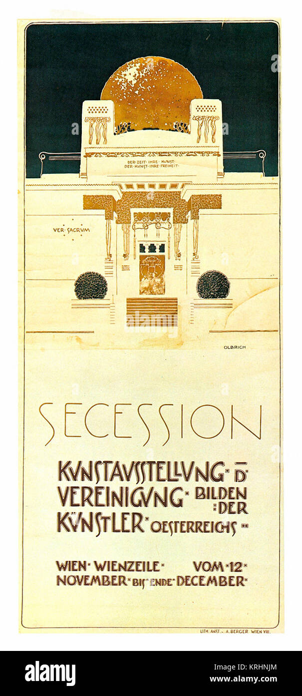 Secession exhibition of United Artists - Stock Image