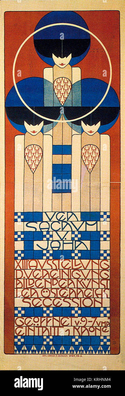 Vienna Secession, Thirteenth Exhibition - Stock Image