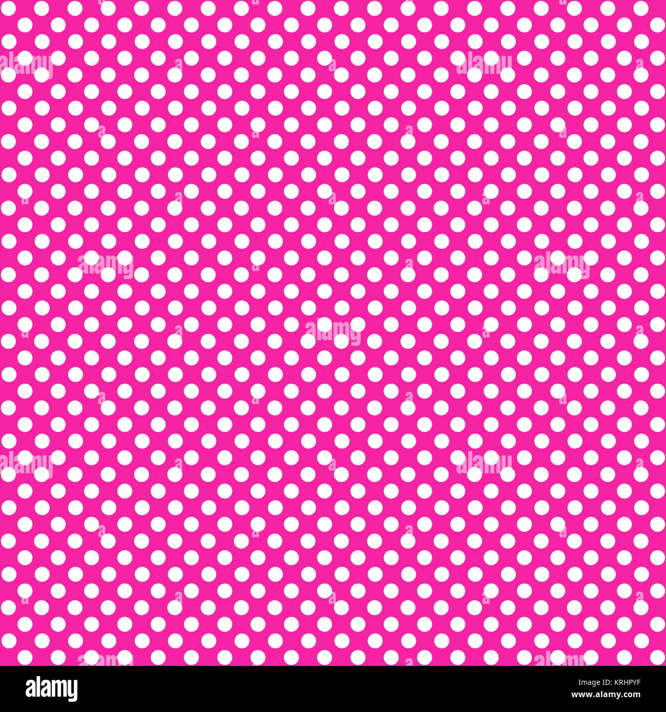 spotted background pink white - Stock Image