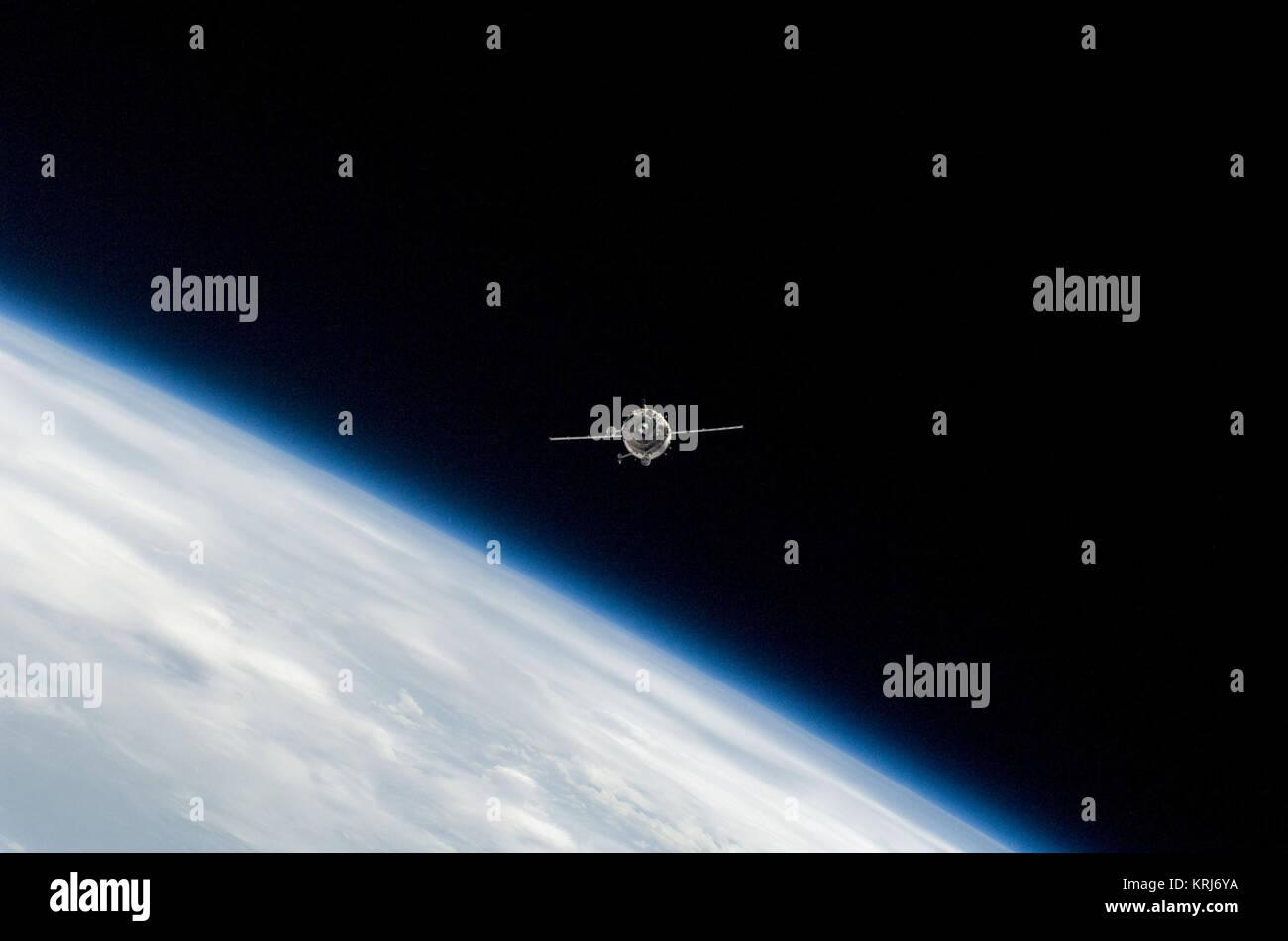 Soyuz TMA-14 cosmos - Stock Image