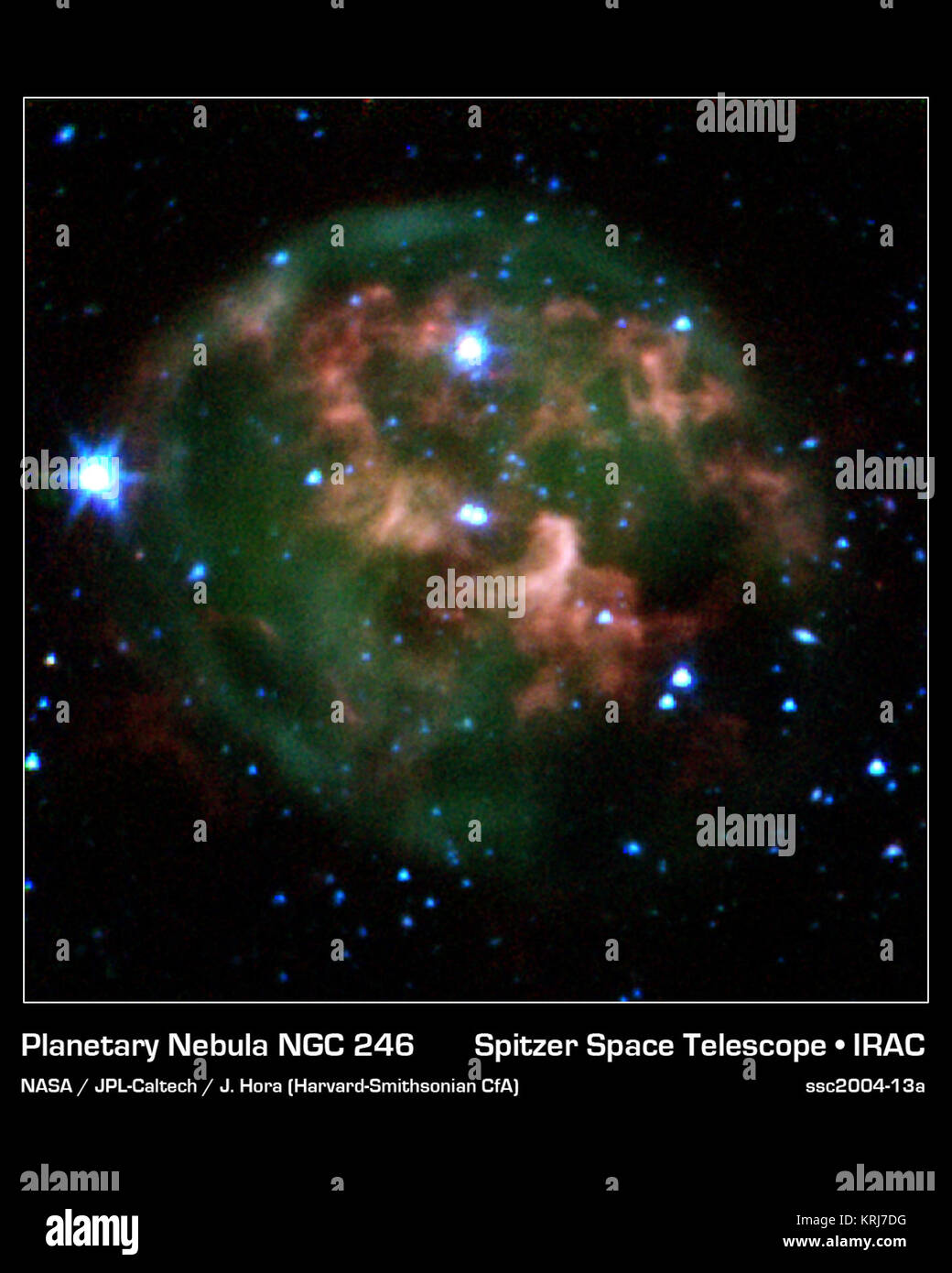 This Image From Nasa S Spitzer Space Telescope Shows A Dying Star Stock Photo Alamy