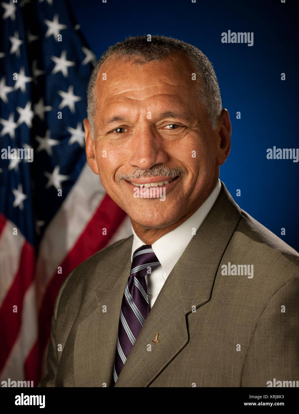 Portrait, Charles F. Bolden, Jr., Administrator, National Aeronautics and Space Administration (NASA). Washington, - Stock Image