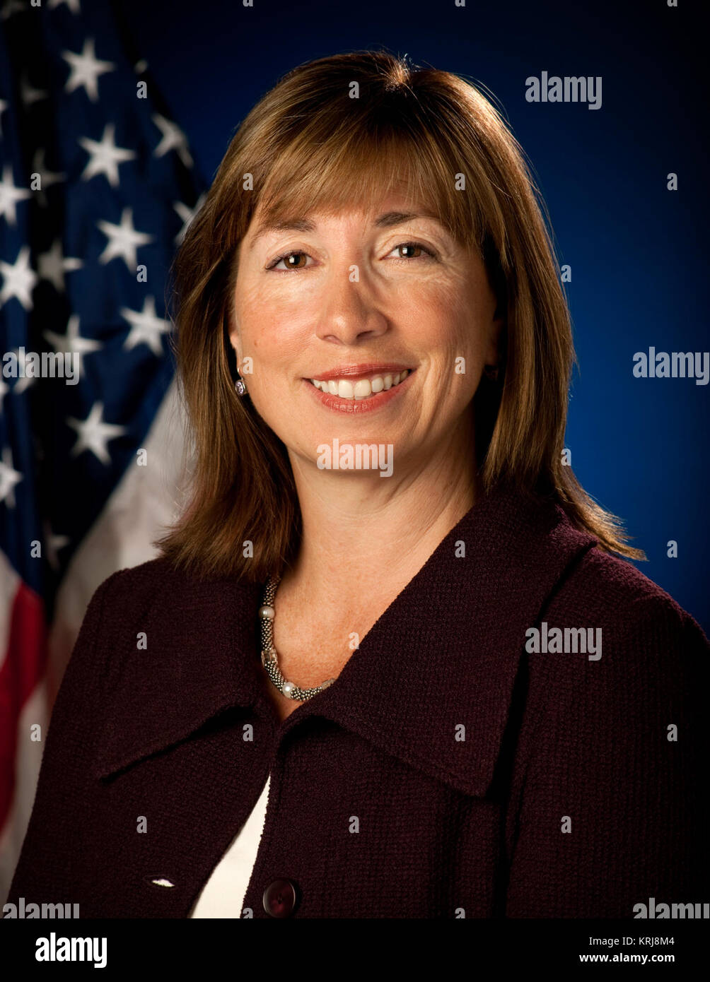 Portrait, Lori B. Garver, Deputy Administrator, National Aeronautics and Space Administration (NASA). Washington, - Stock Image