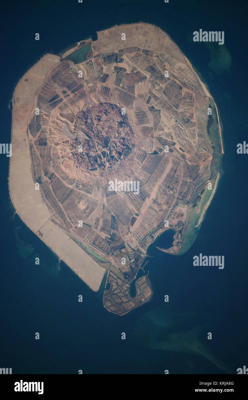 Sir Bani Yas Island, United Arab Emirates - Stock Image