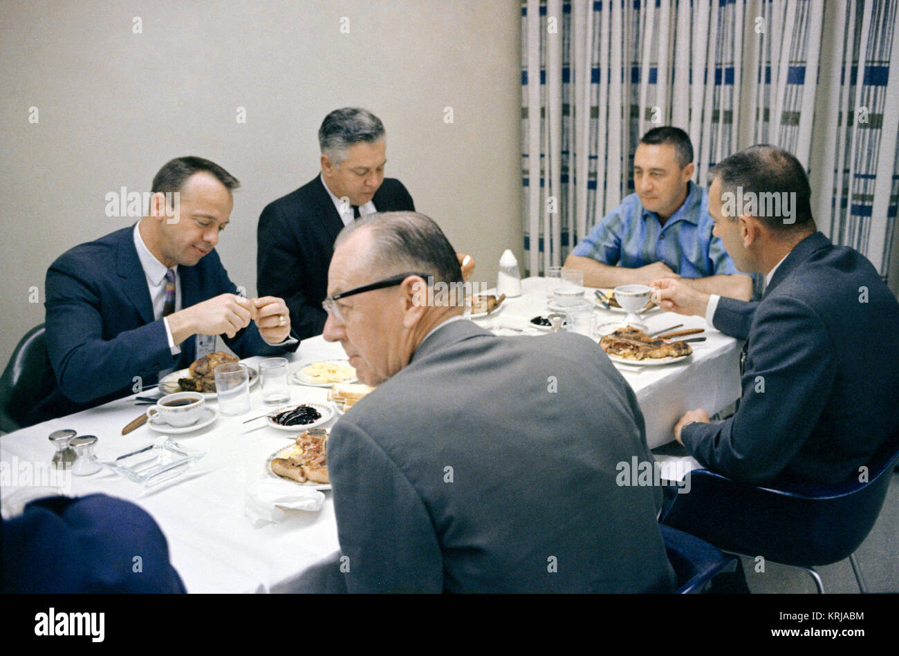 Gemini 3 pre-launch breakfast - Stock Image