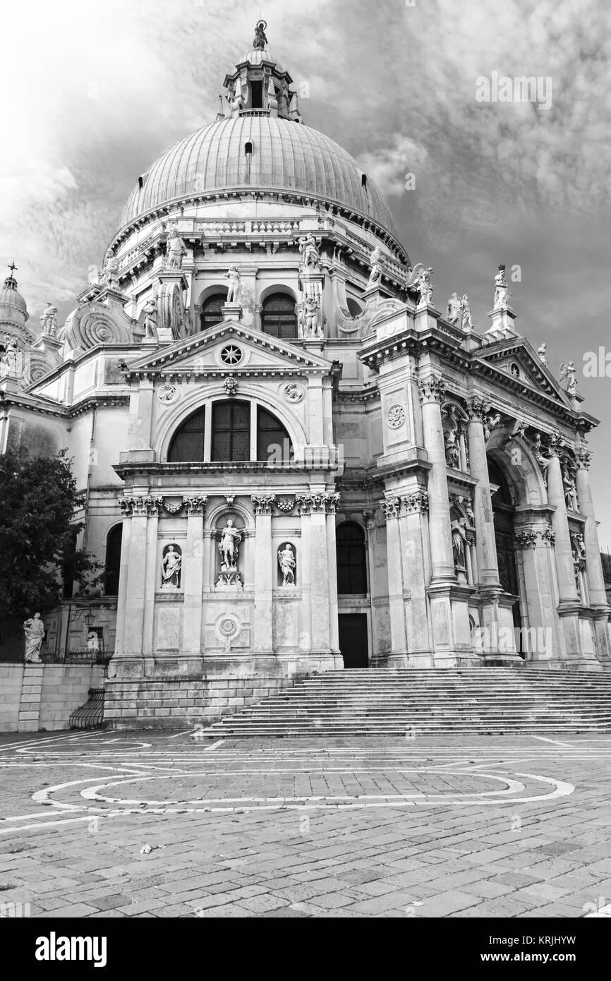 Church Santa Maria della Salute in Venice - Stock Image