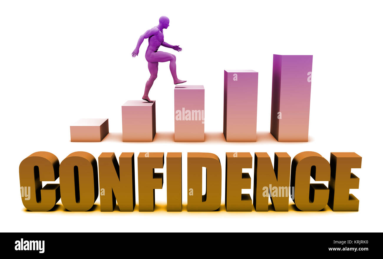 Confidence - Stock Image