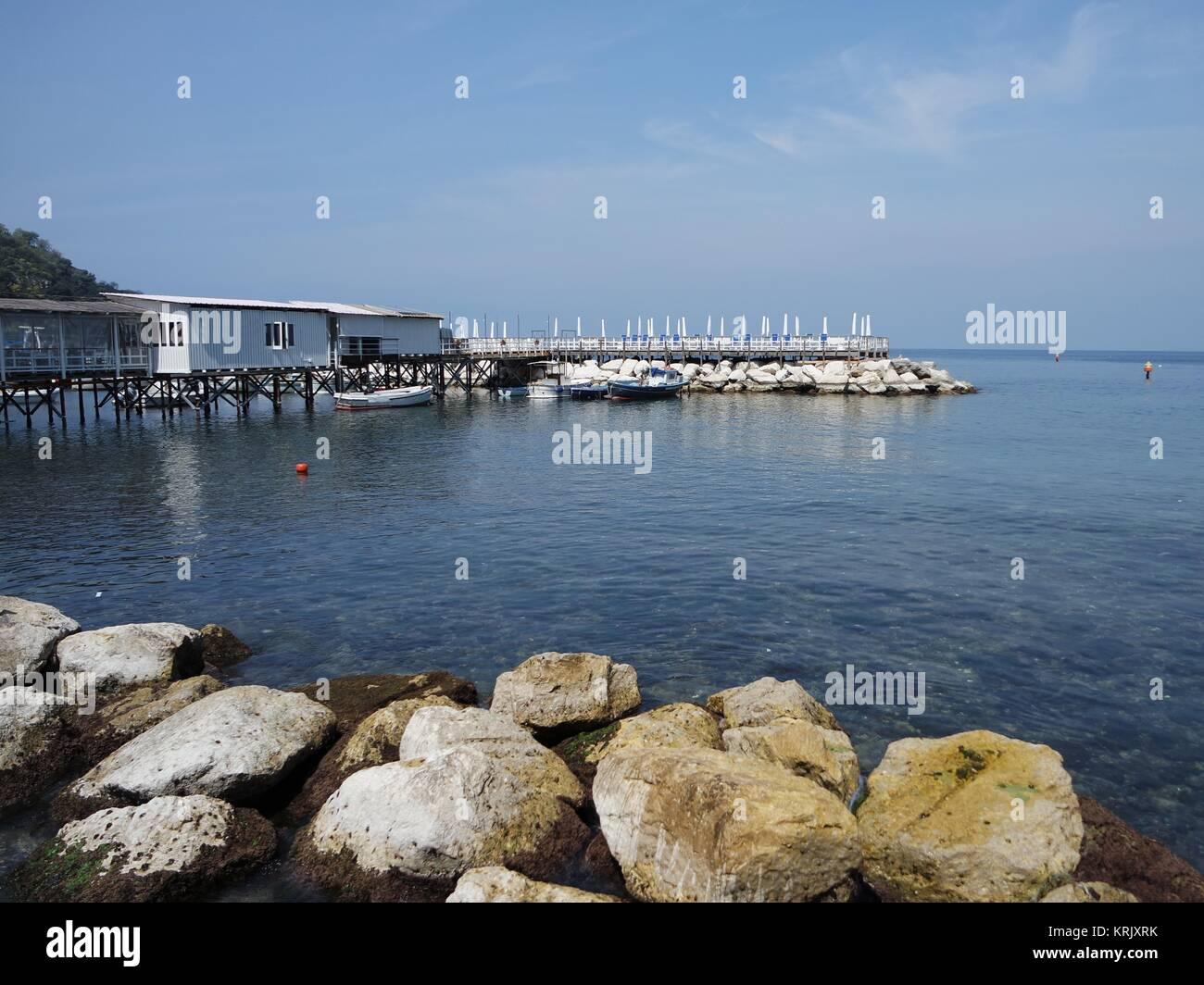 marina grande in sorrento Stock Photo