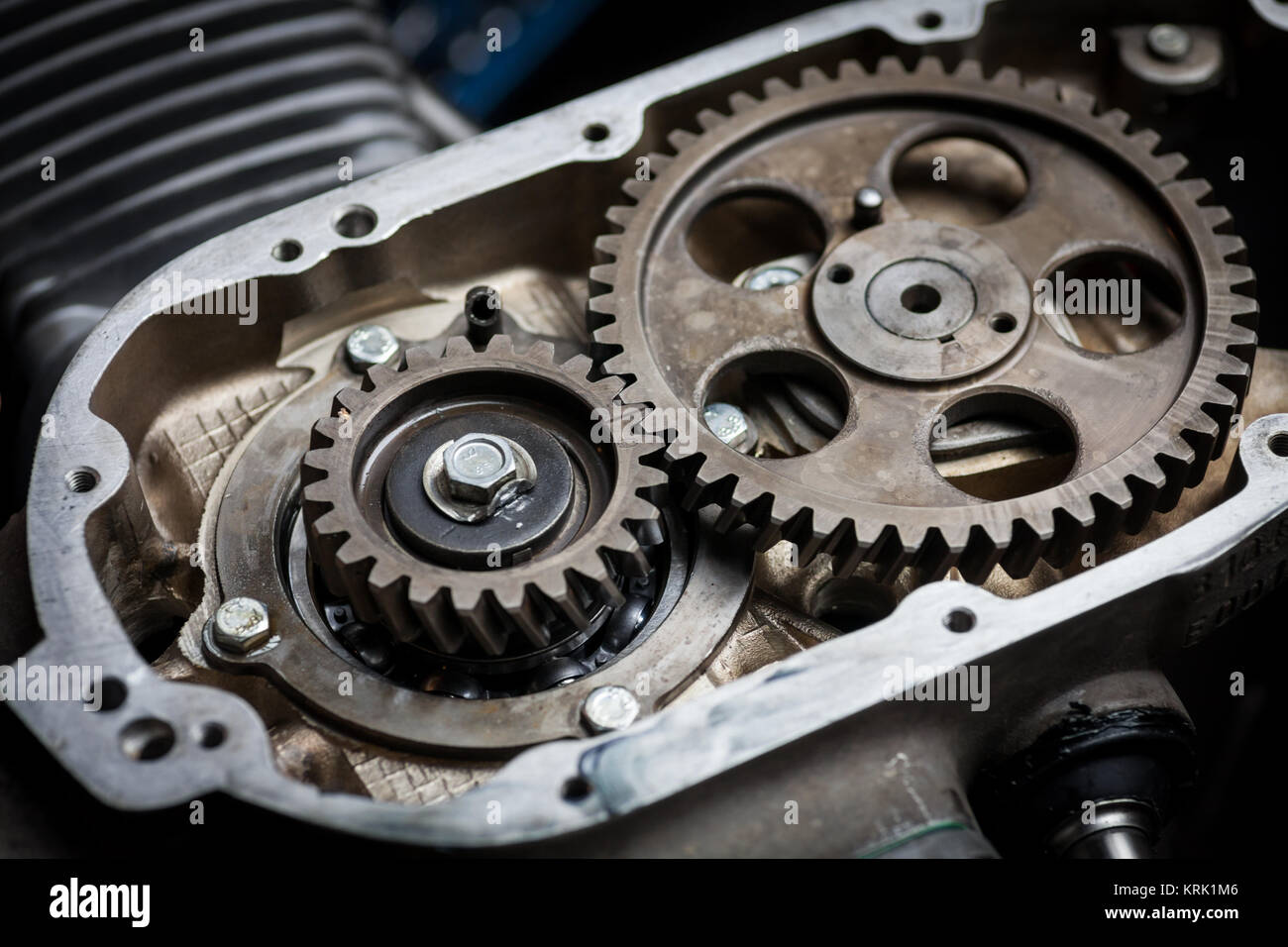 Boxer Engine Stock Photos Images Alamy Alfa Romeo Timing Gear Sprockets In Image