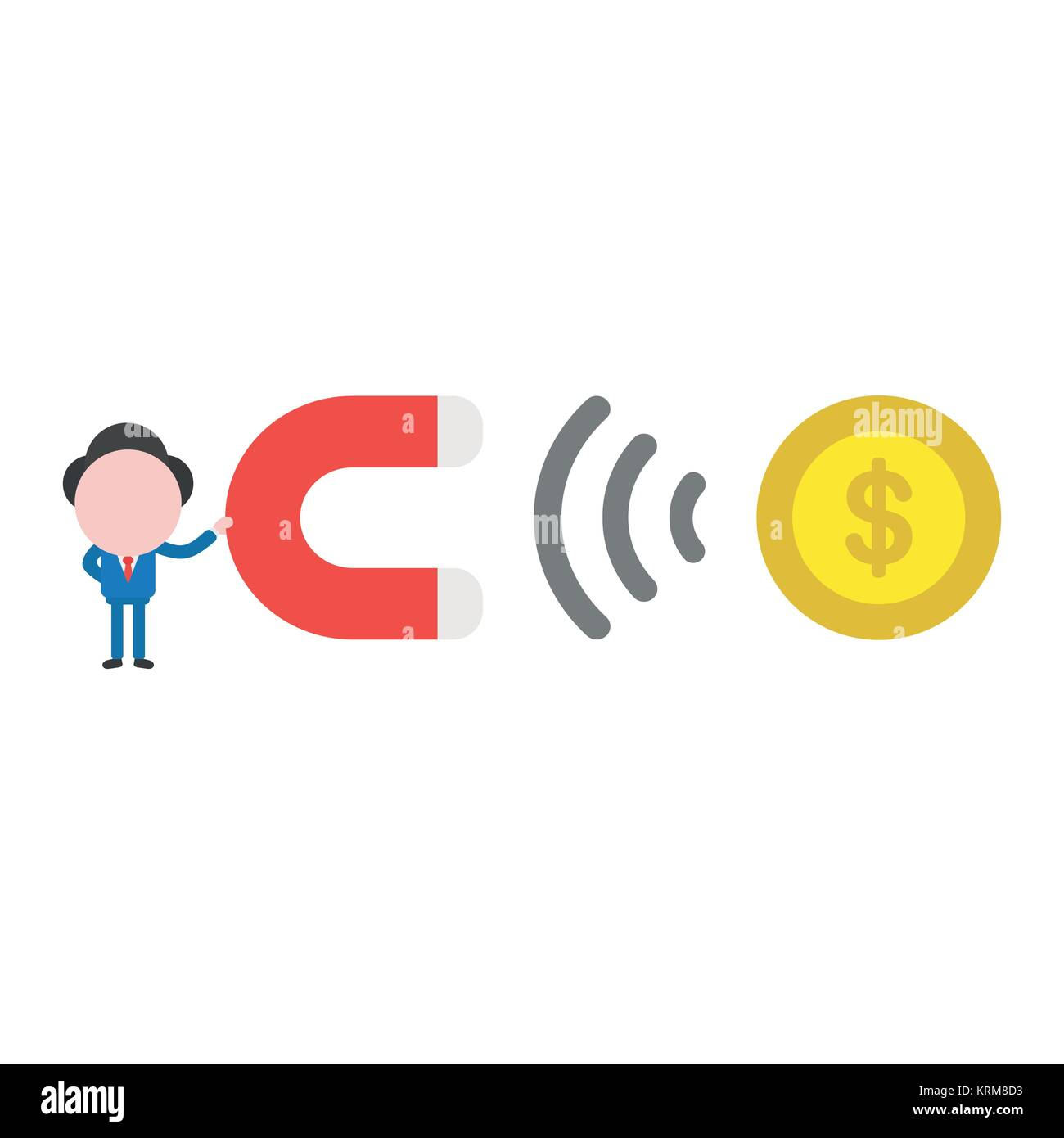 Cartoon Illustration Coin Money Payment Cut Out Stock Images ...