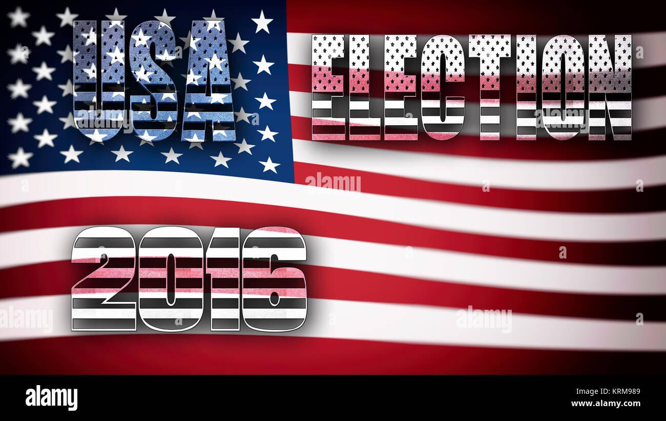 USA Election 2016 - Stock Image