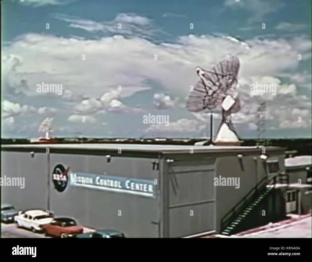 NASA Mission Control Center, Cape Canaveral 1965 - Stock Image