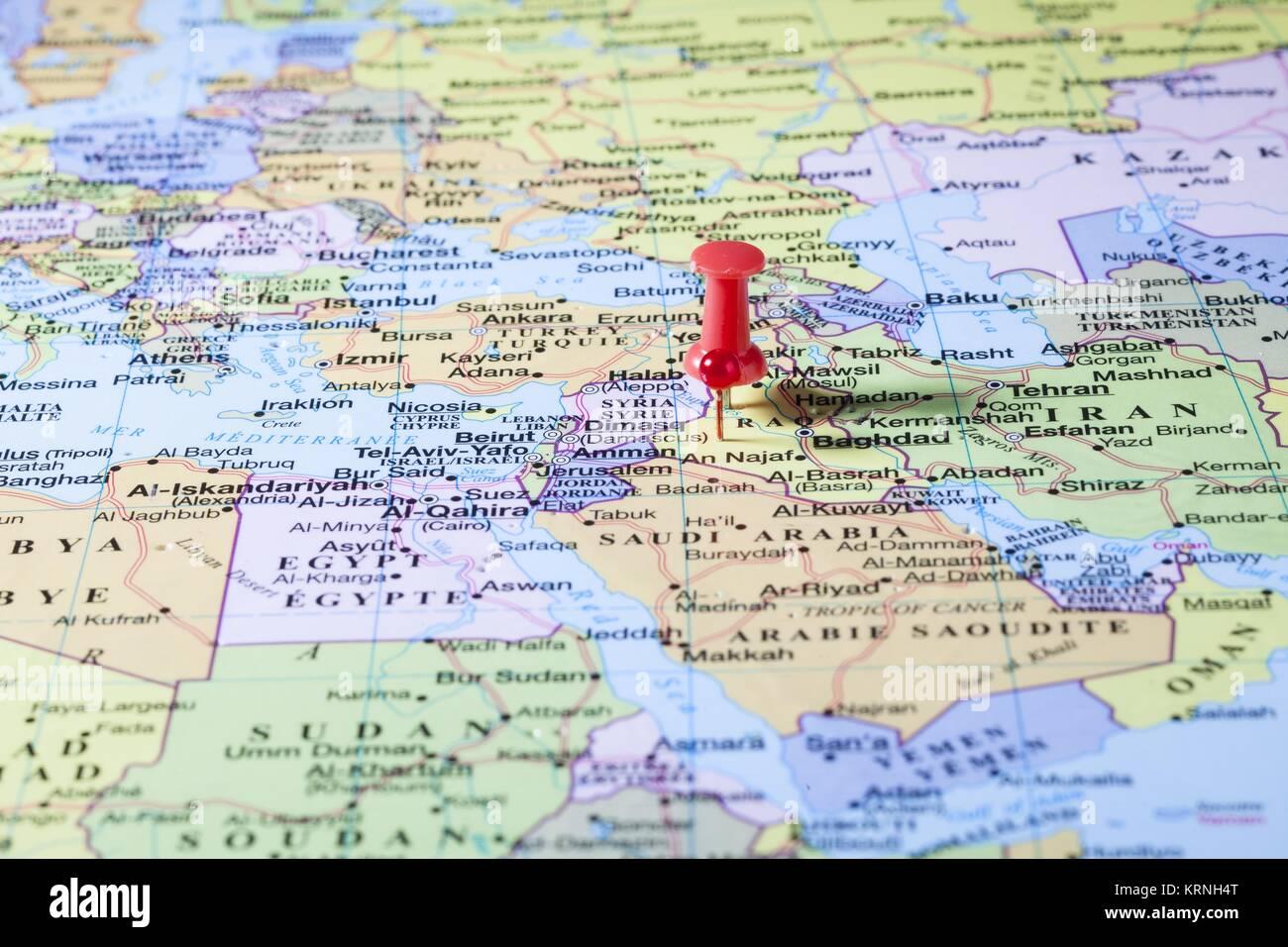 pinned iraq Stock Image Iraq Baghdad