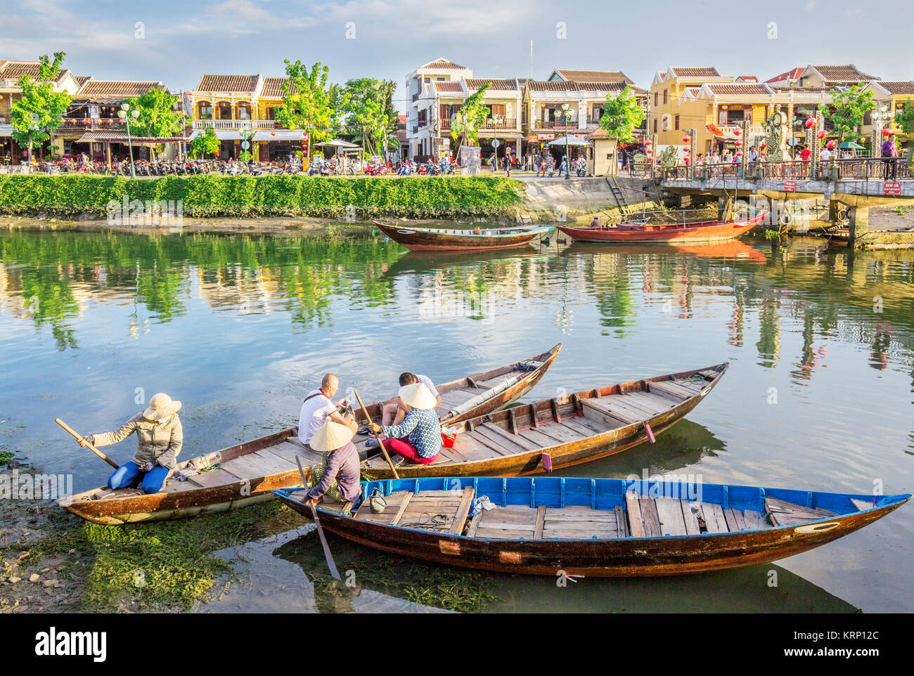 Royalty high quality free stock image  Hoi An, Vietnam - Stock Image