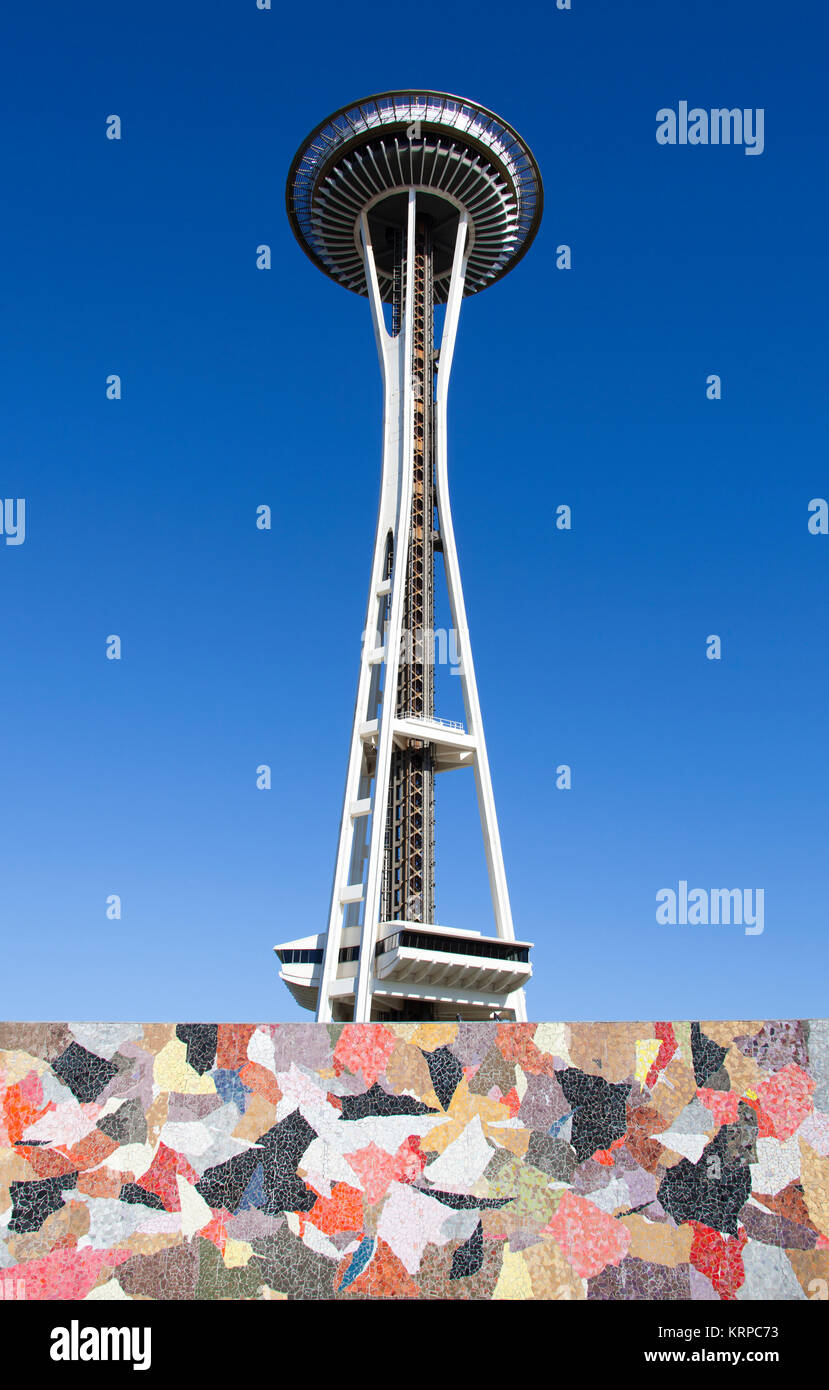 Seattle Futuristic Architecture - Stock Image