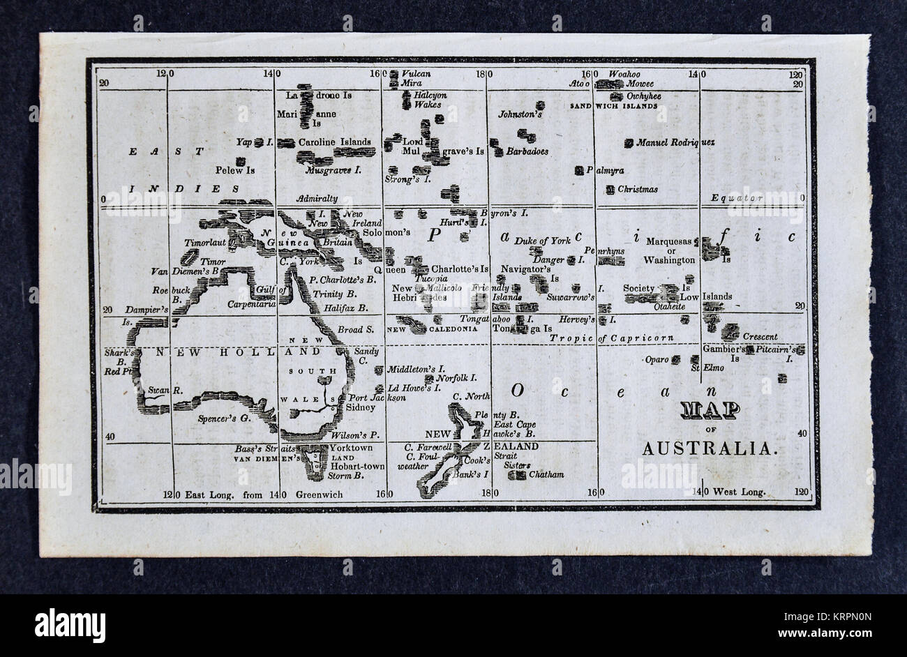 Map Of Australia 1830.1830 Nathan Hale Map Oceania Oceanica Australia New Zealand Borneo