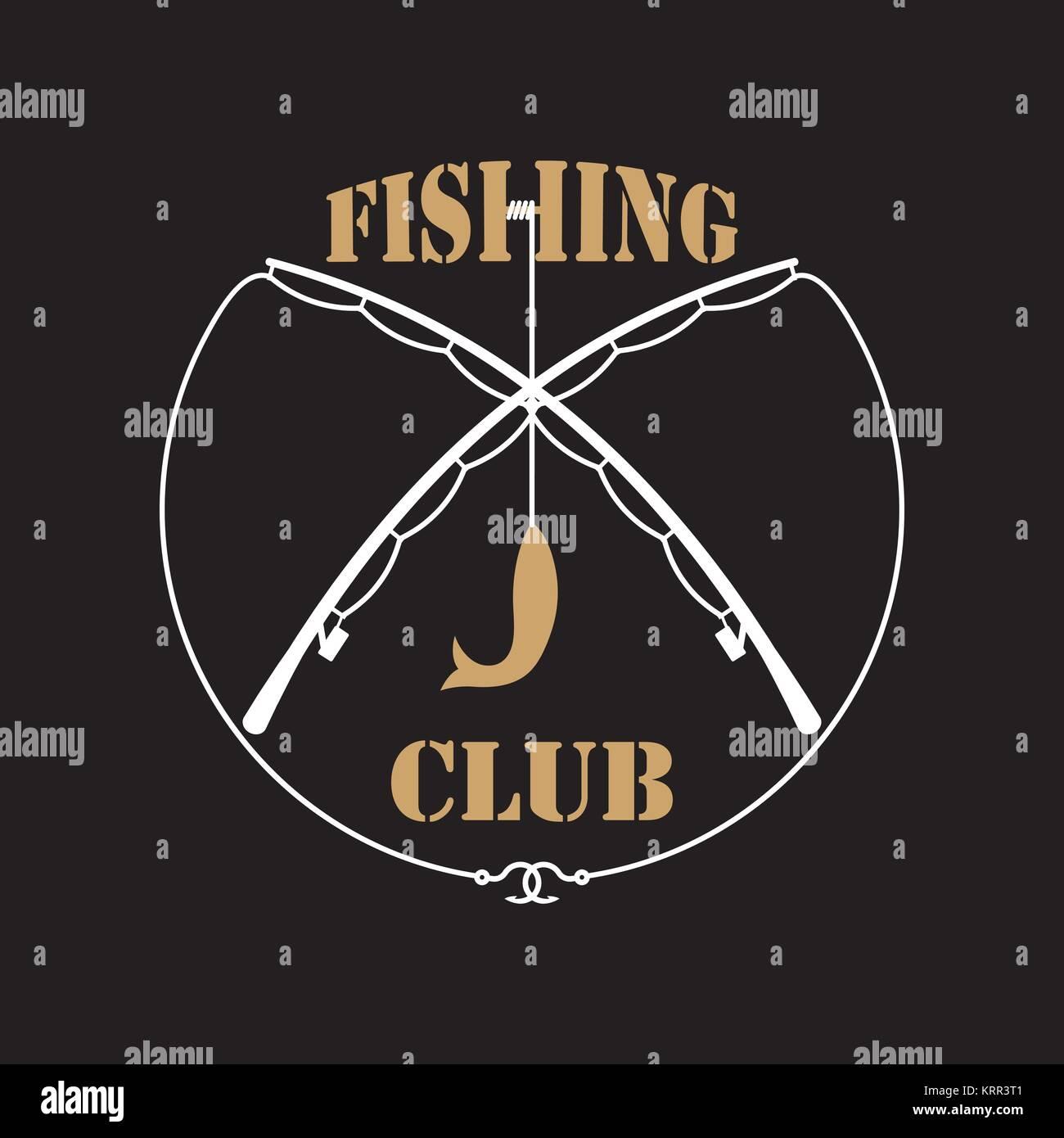 fishing club logo stock photos amp fishing club logo stock