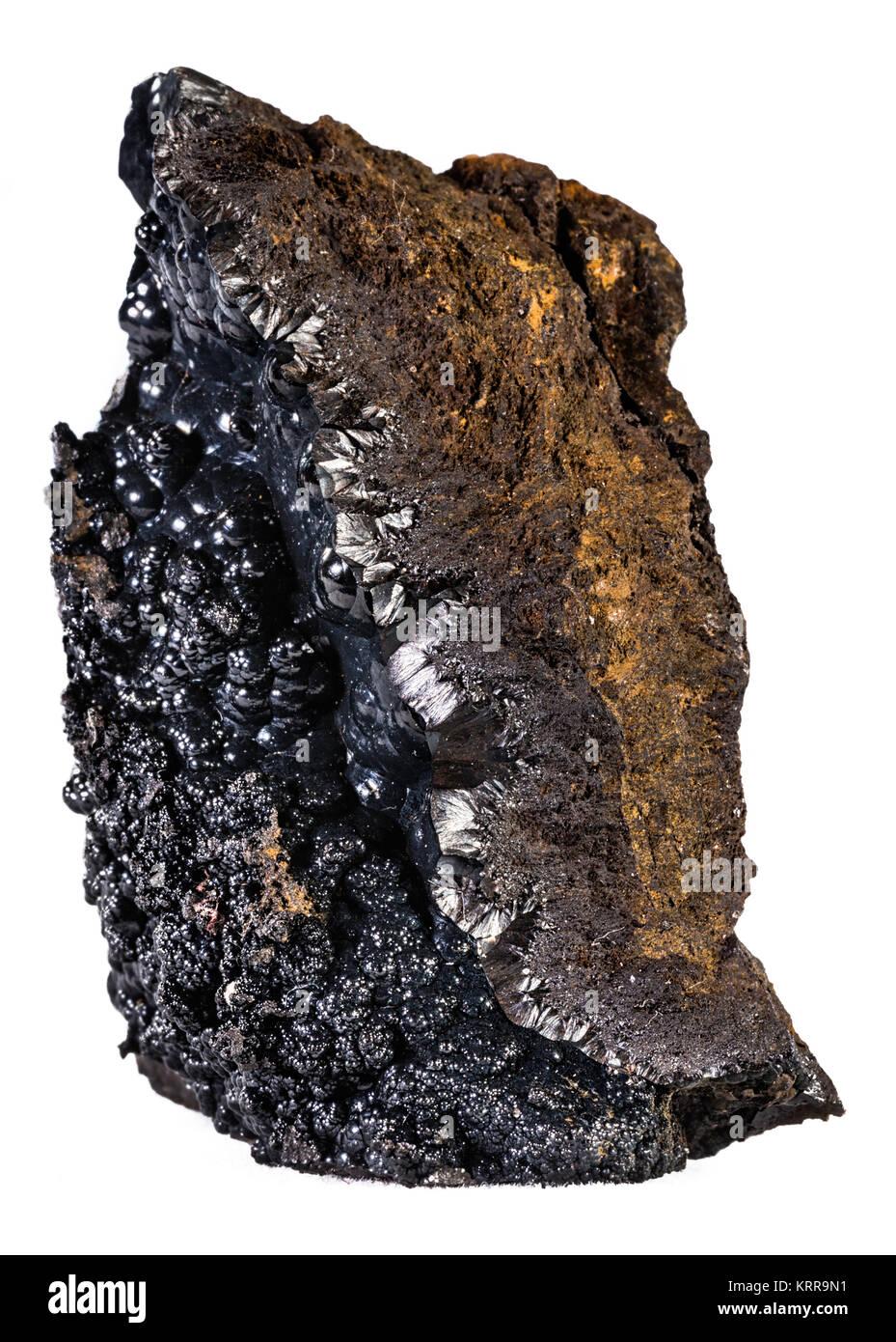 Goethite mineral - Stock Image