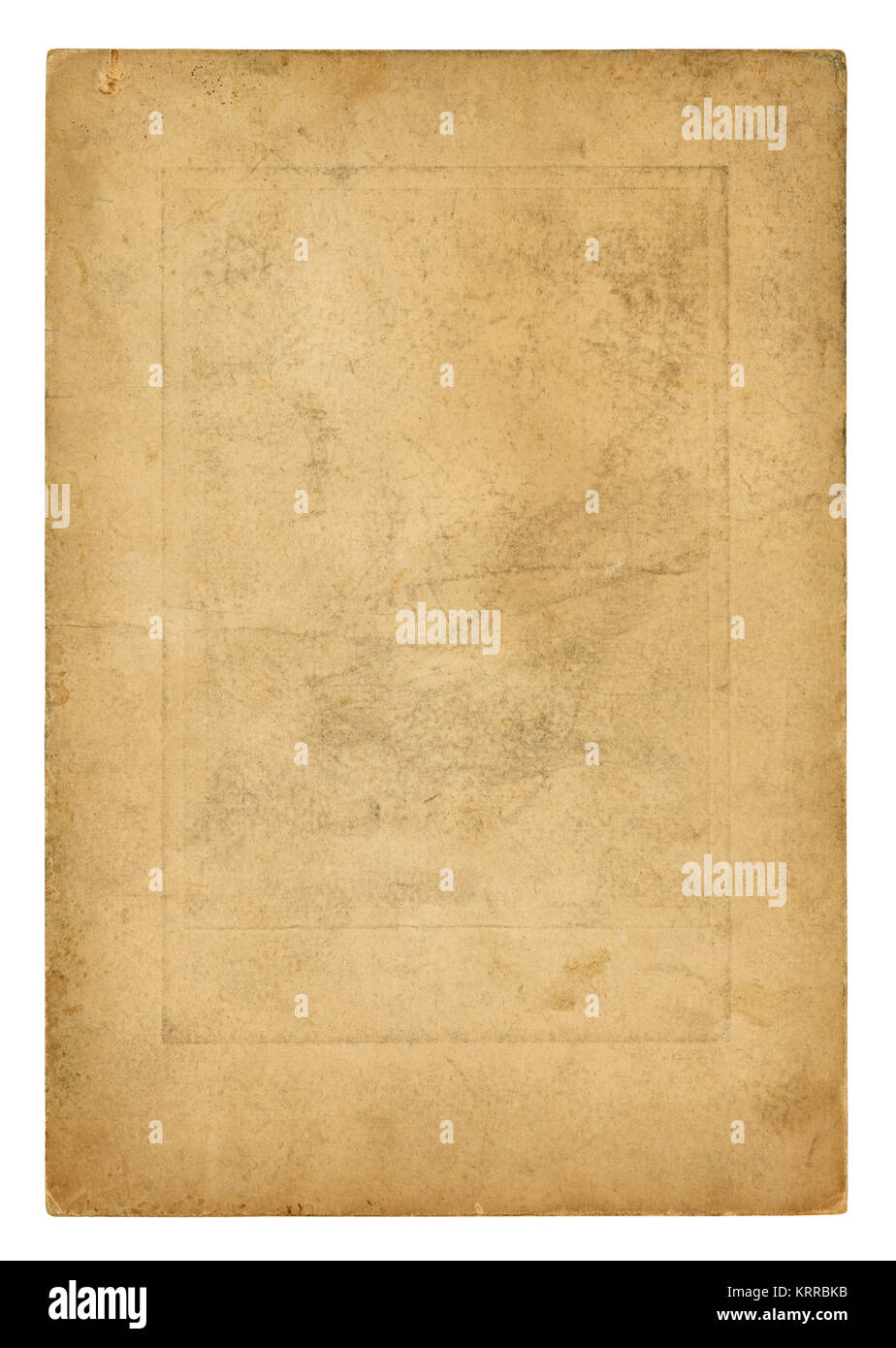 Vintage Photo paper - High resolution - Stock Image