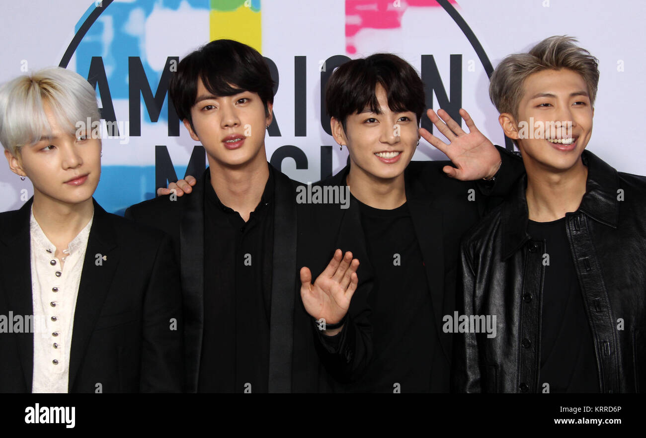 779cf0fd31ba 2017 American Music (AMA) Awards - Arrivals Featuring  Jin