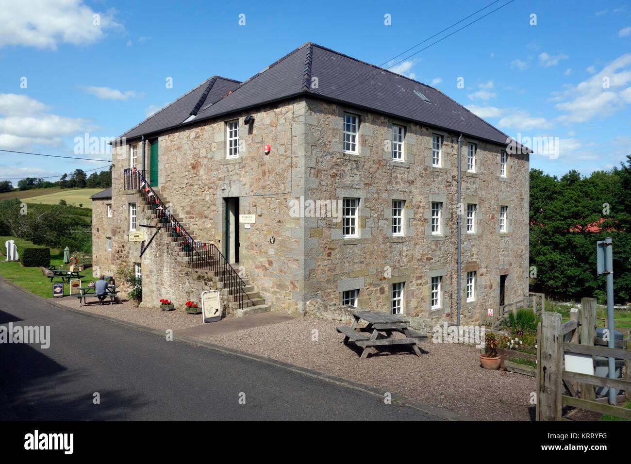 Heatherslaw Mill Stock Photo