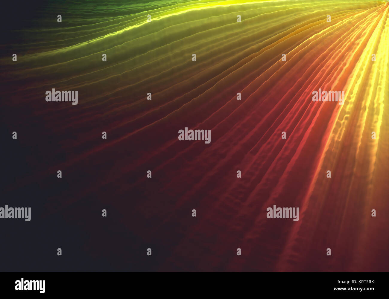 3D illustration. Colorful 3D embossed abstract background. - Stock Image