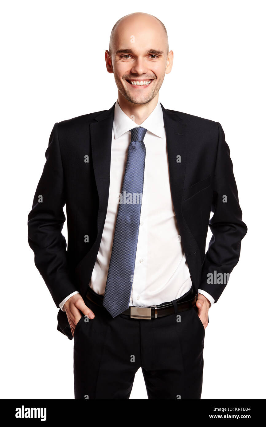 Smiling Young Man - Stock Image
