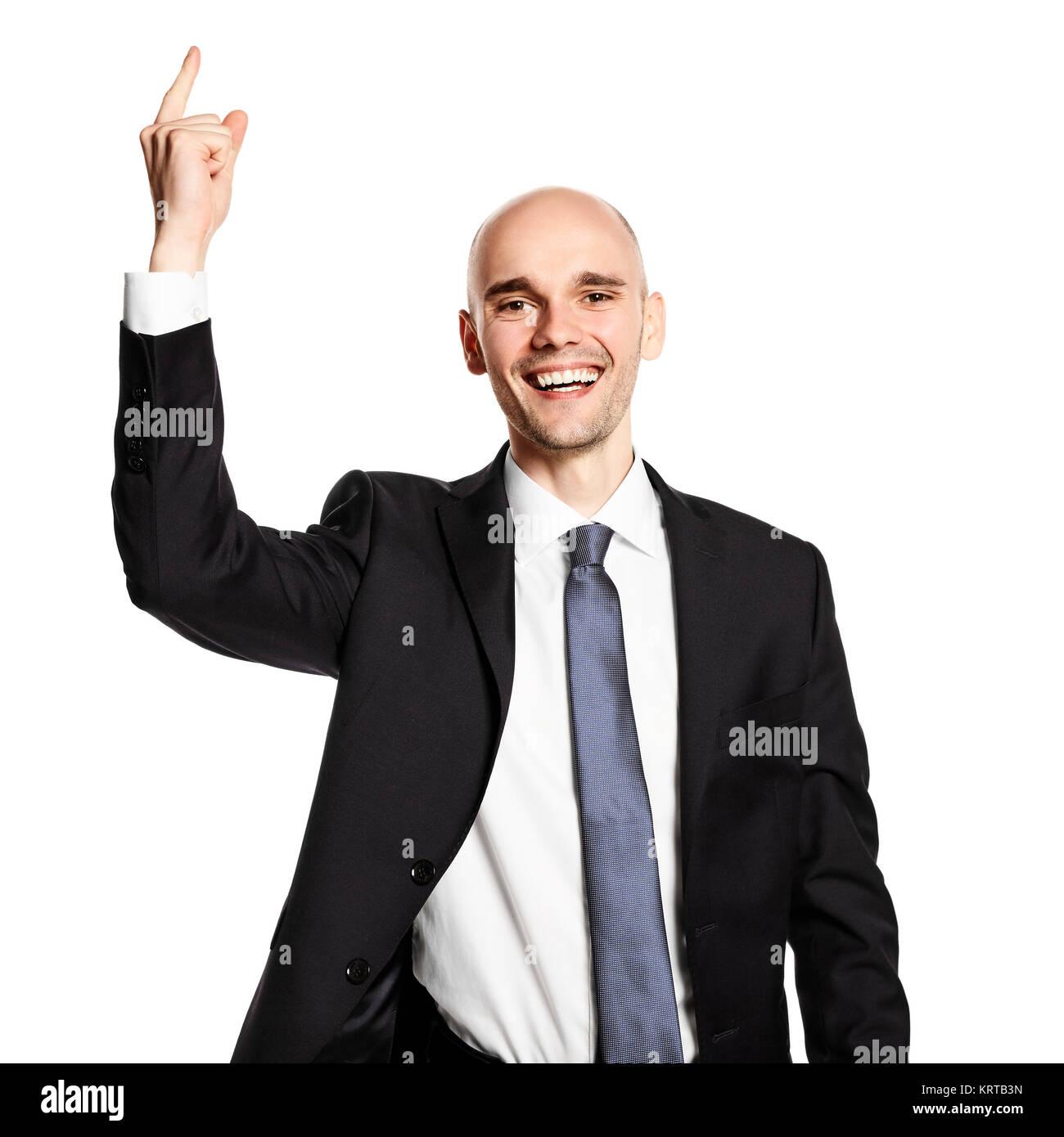 Happy Man - Stock Image