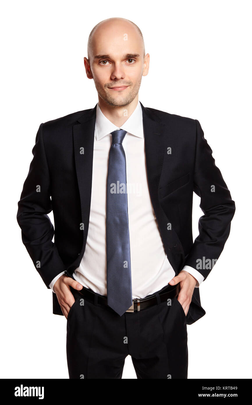 Confident Man - Stock Image