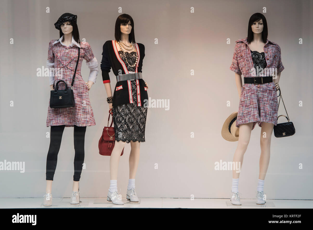 aace1f720d78a4 London, England - February 21, 2017 - Storefront of Chanel brand in London.