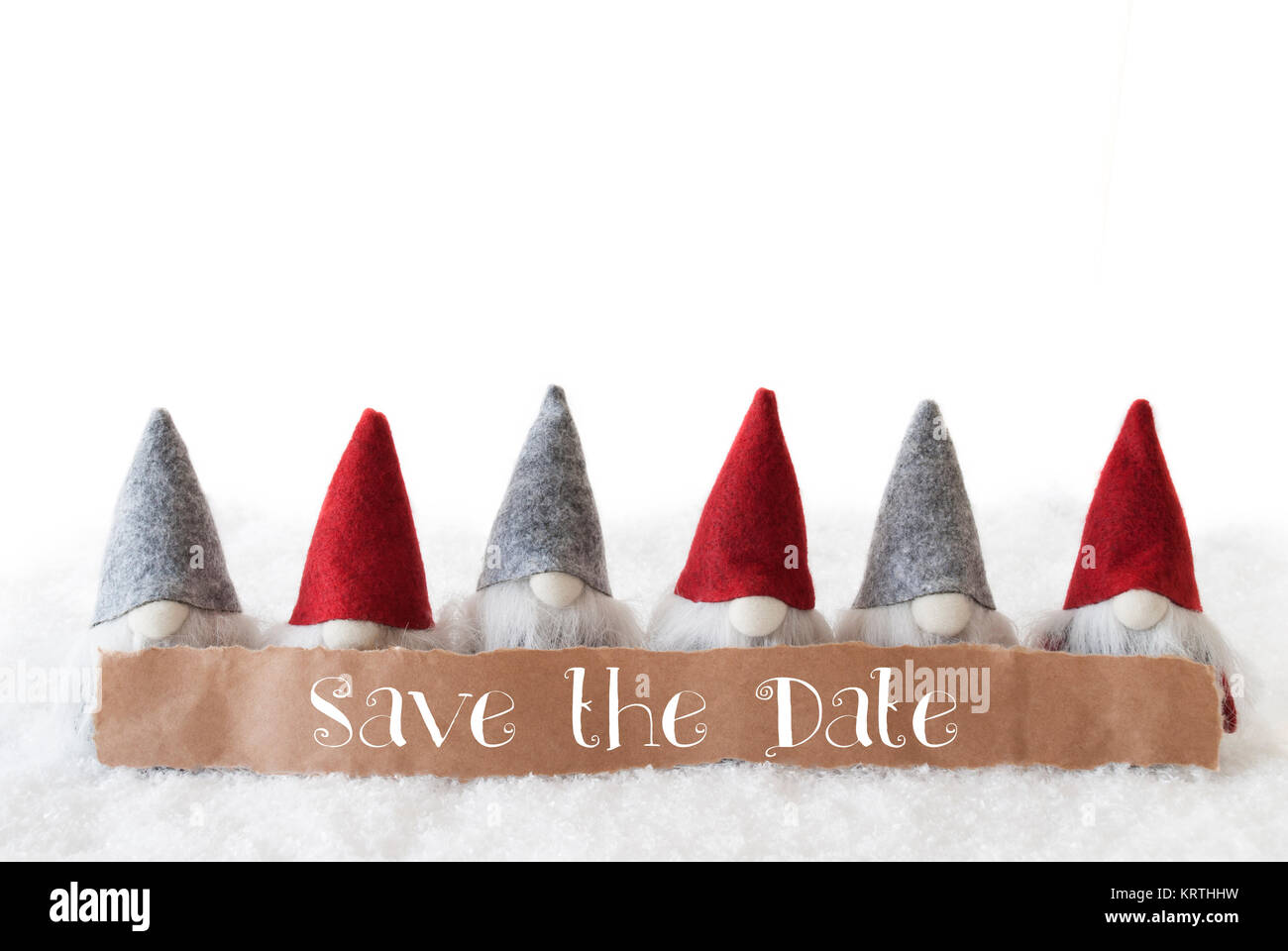 Christmas Save The Date.Label With English Text Save The Date Christmas Greeting