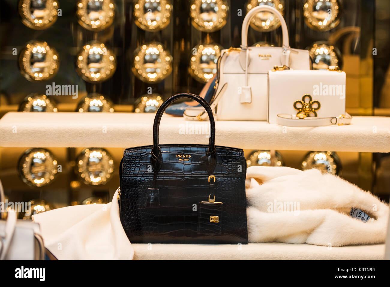 3b03c7188ee6 Prada Handbags Stock Photos   Prada Handbags Stock Images - Alamy