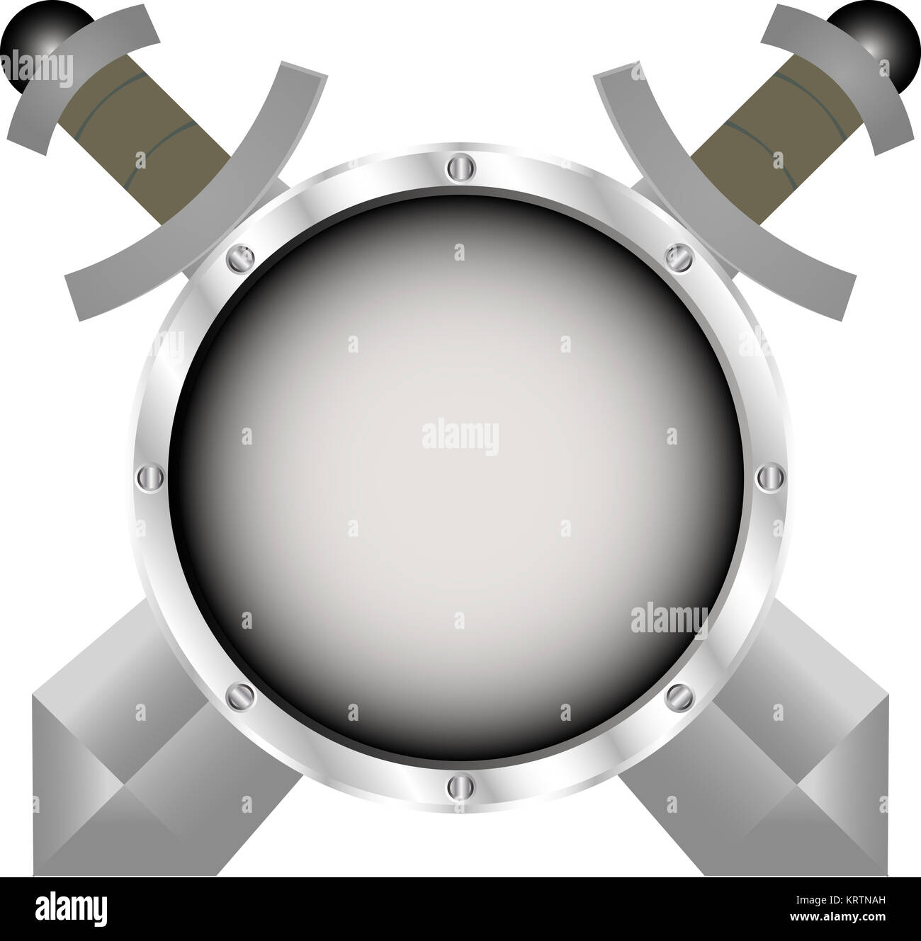 Shield logo icon design template elements Stock Photo: 169574009 - Alamy