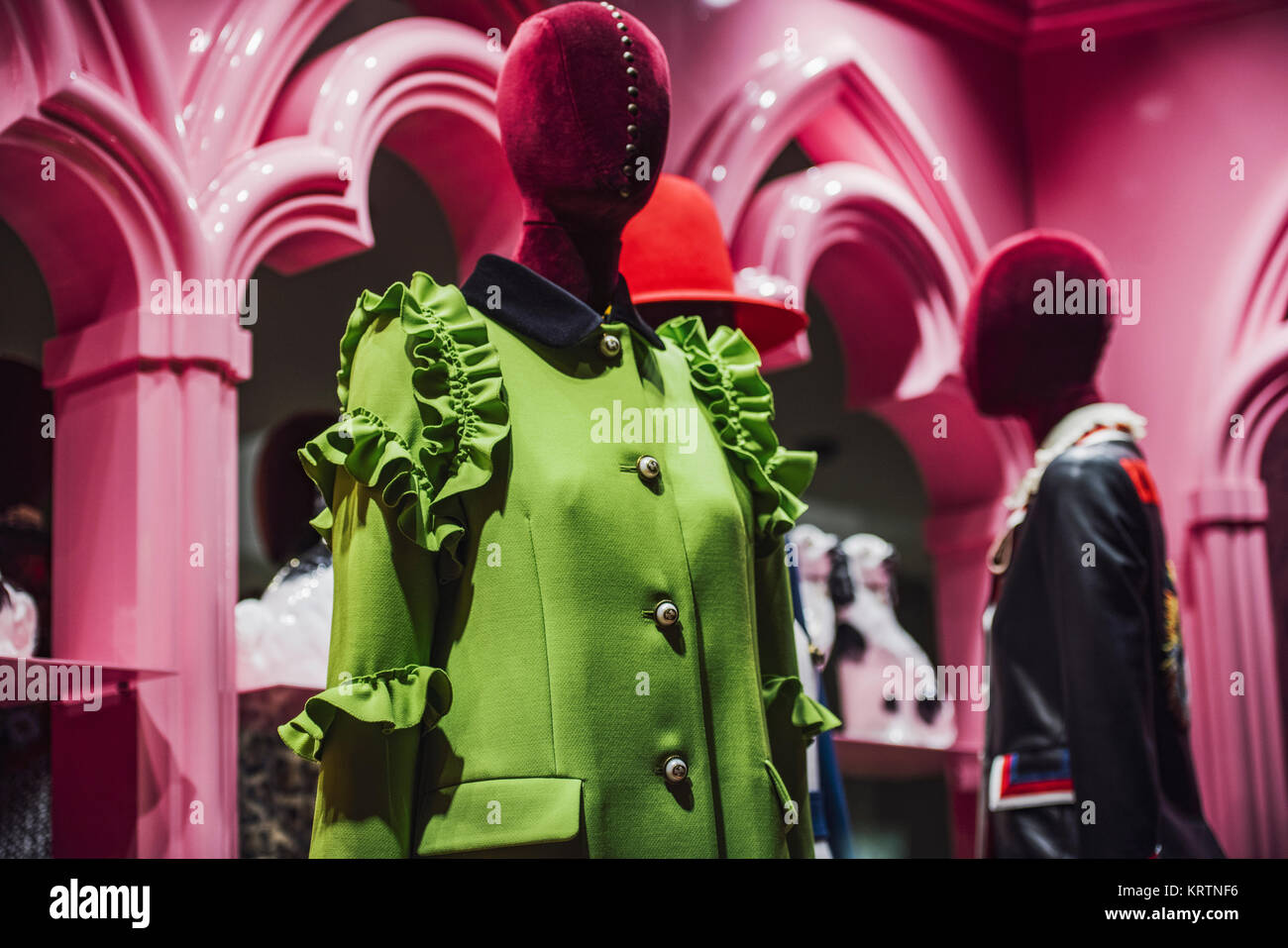 Milan, Italy - November 12, 2016: Dolce and Gabbana store in Milan, Italy. - Stock Image
