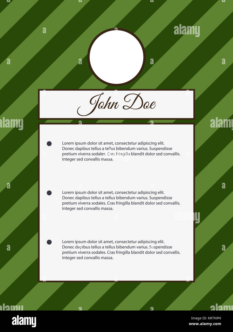 Resume Template Stock Photos  Resume Template Stock Images  Alamy