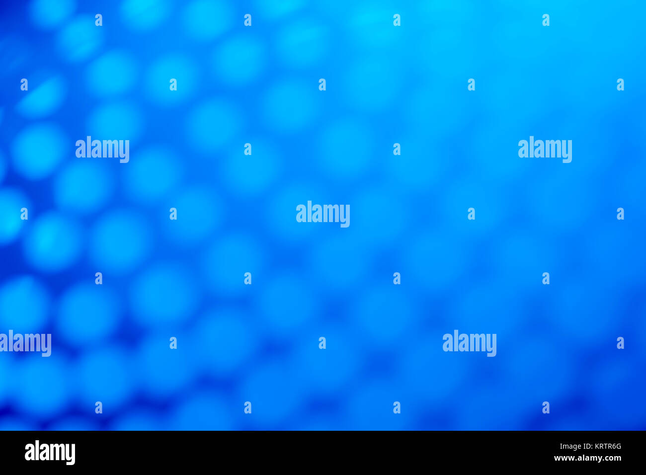 Abstract blue dots as photographic backdrop or background. Stock Photo