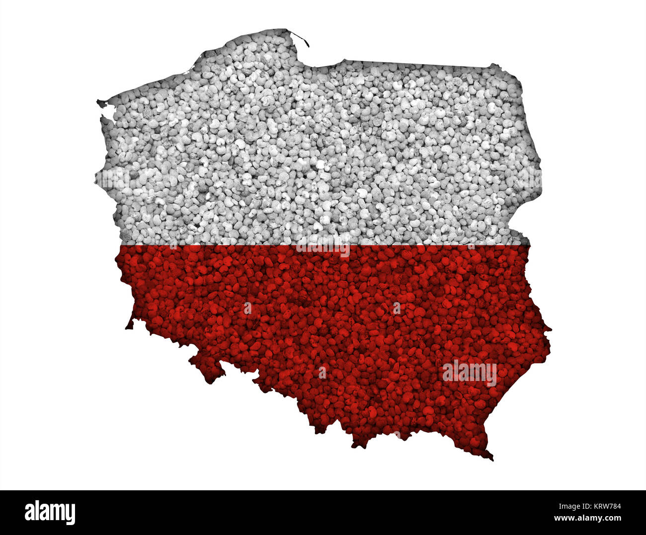 country with different hintergruenden - Stock Image