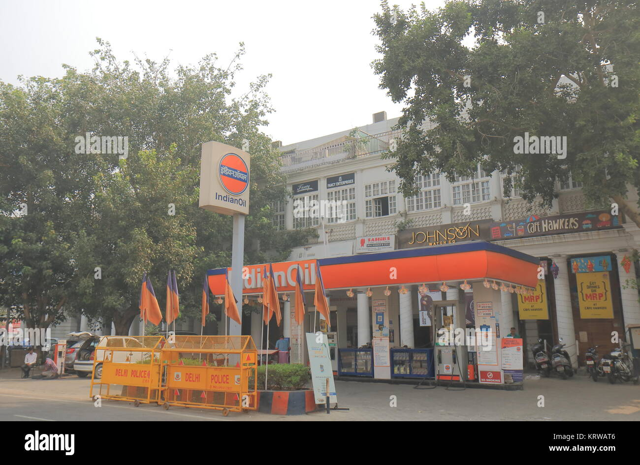 Indian Petrol Station Stock Photos Indian Petrol Station Stock