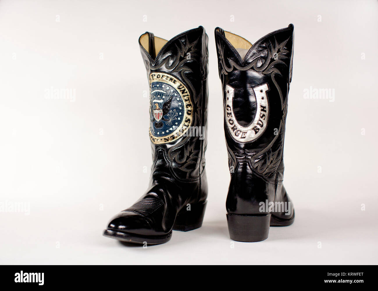 Black And Silver Boots Stock Photos Black And Silver Boots Stock
