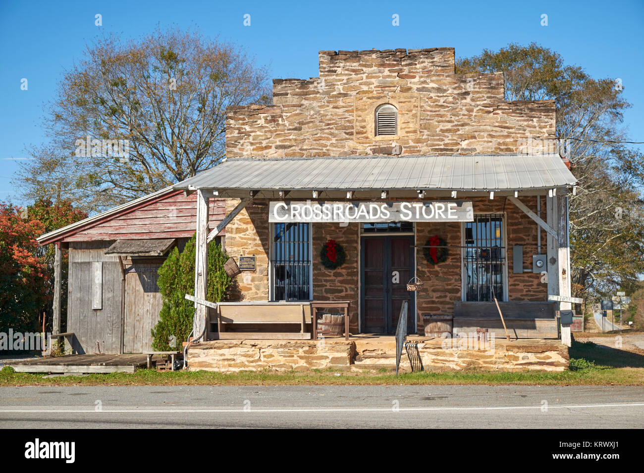The R M Jones General Store In Troup County Georgia Usa