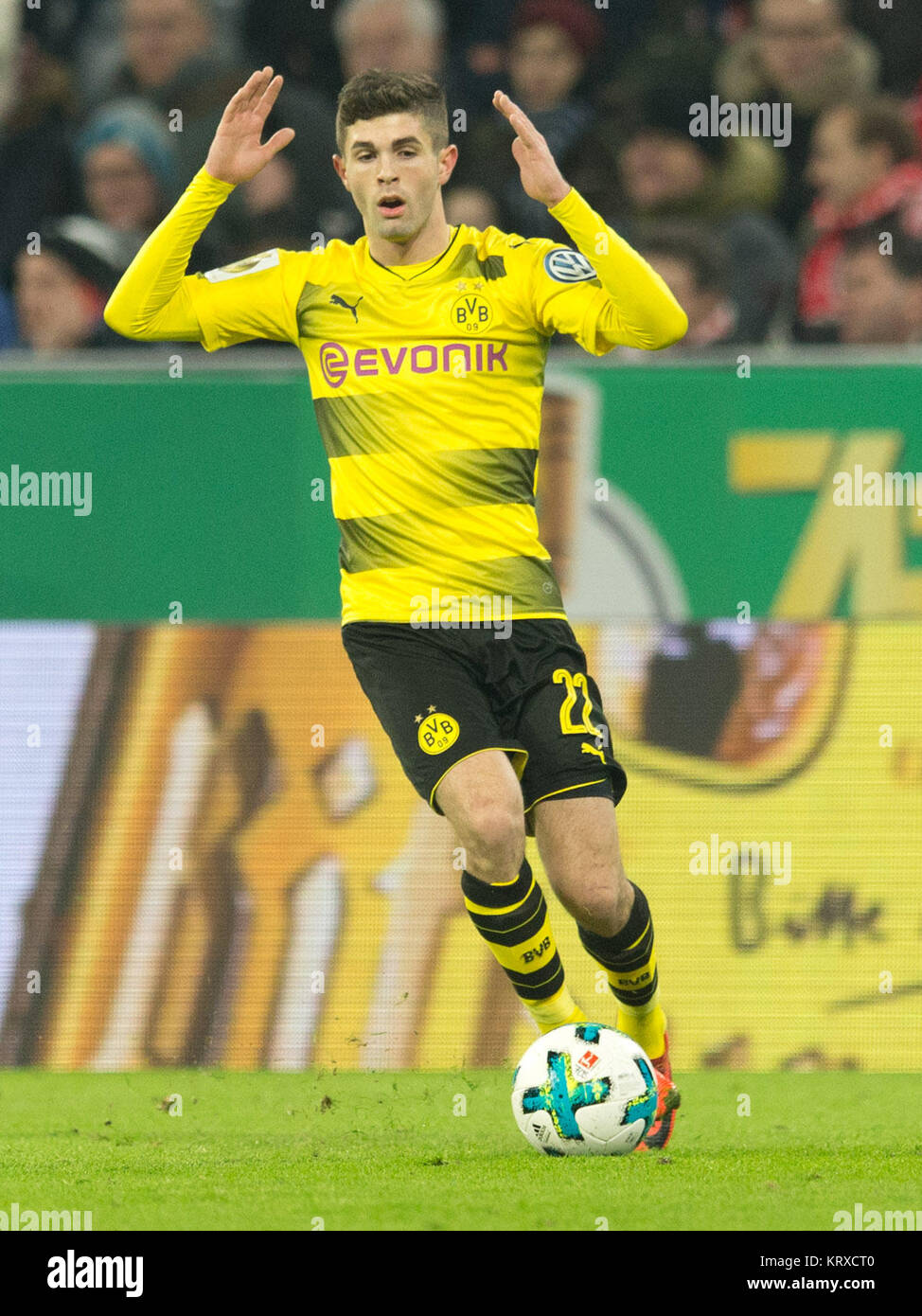 Christian Pulisic Bvb Disappointed Ges Fussball Dfb