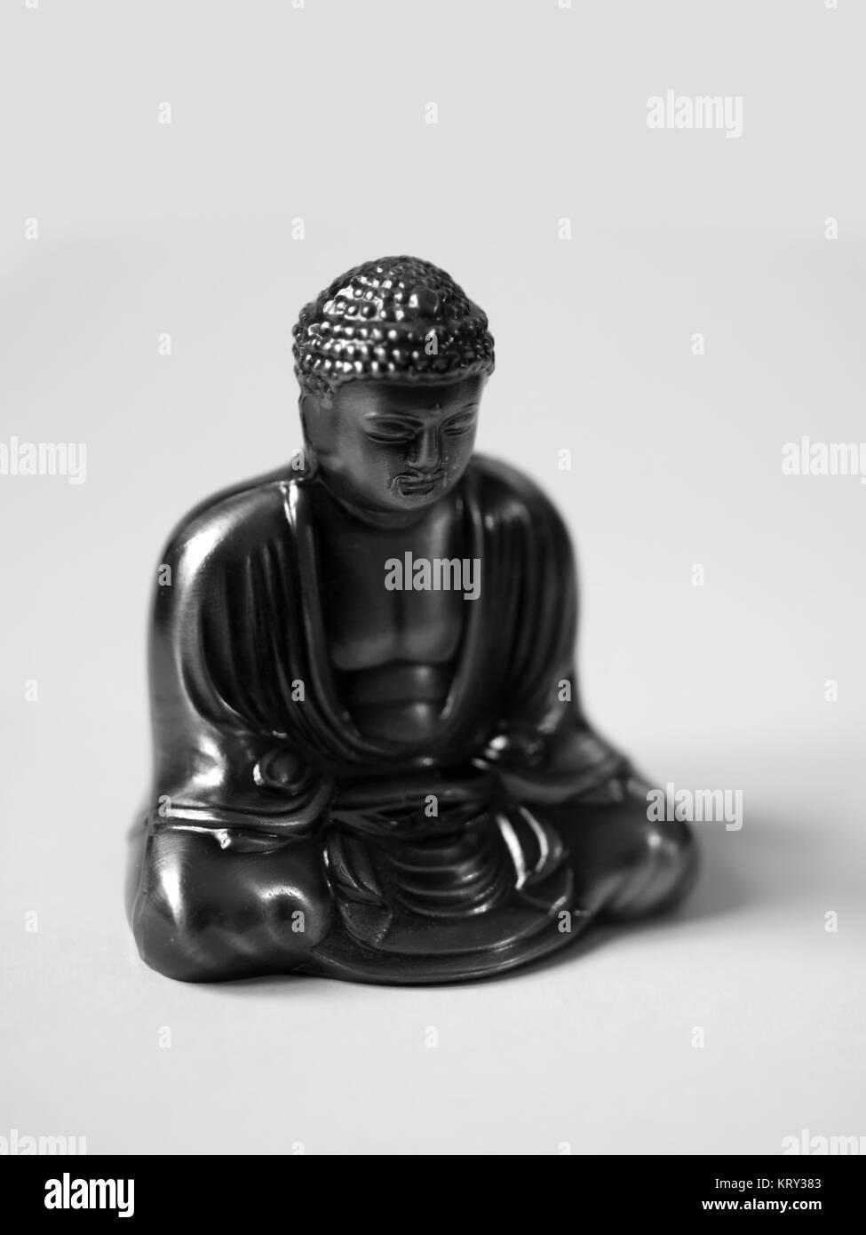 THE GREAT BUDDHA OF KAMAKURA - Stock Image