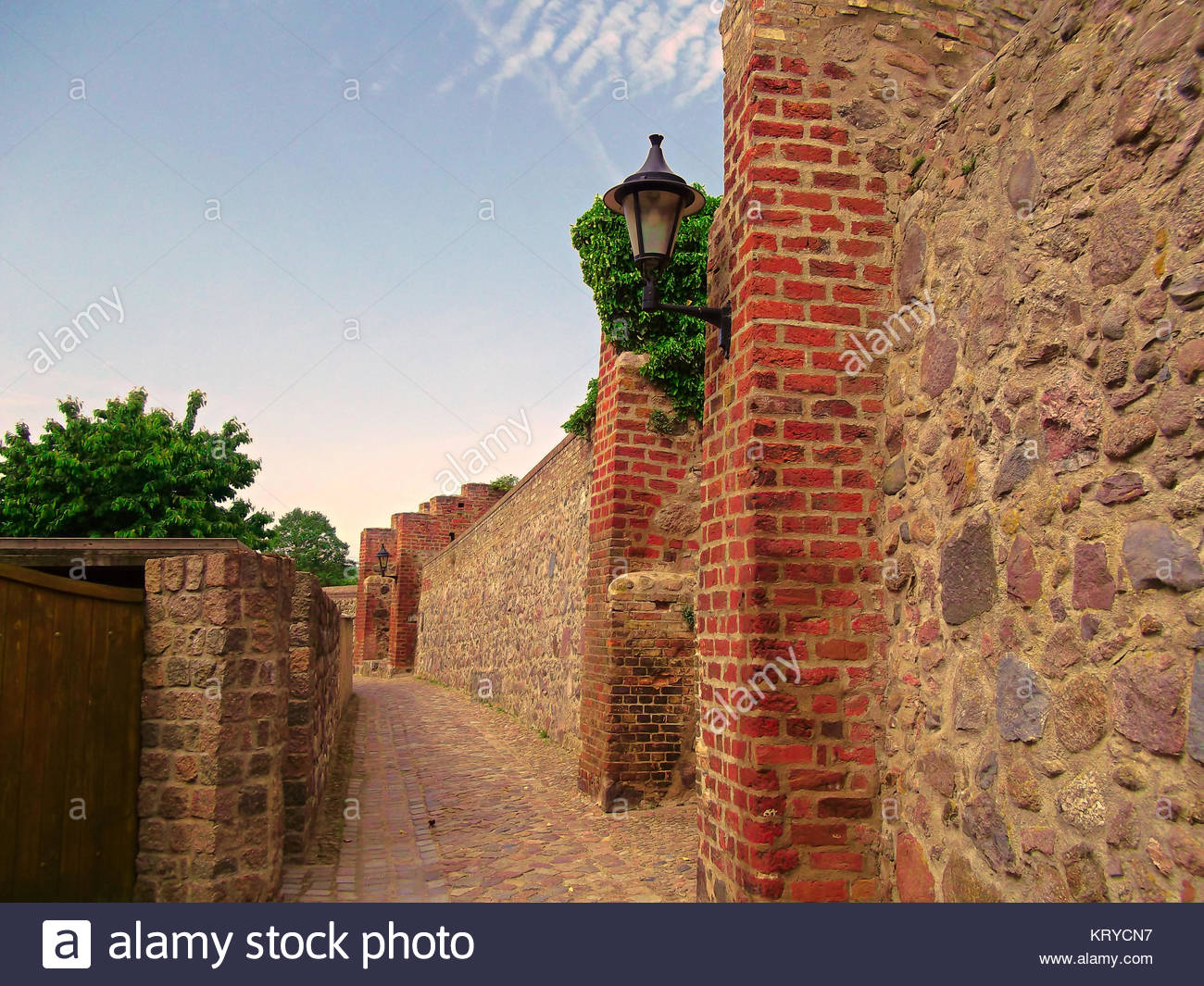 the fortress of templin - Stock Image