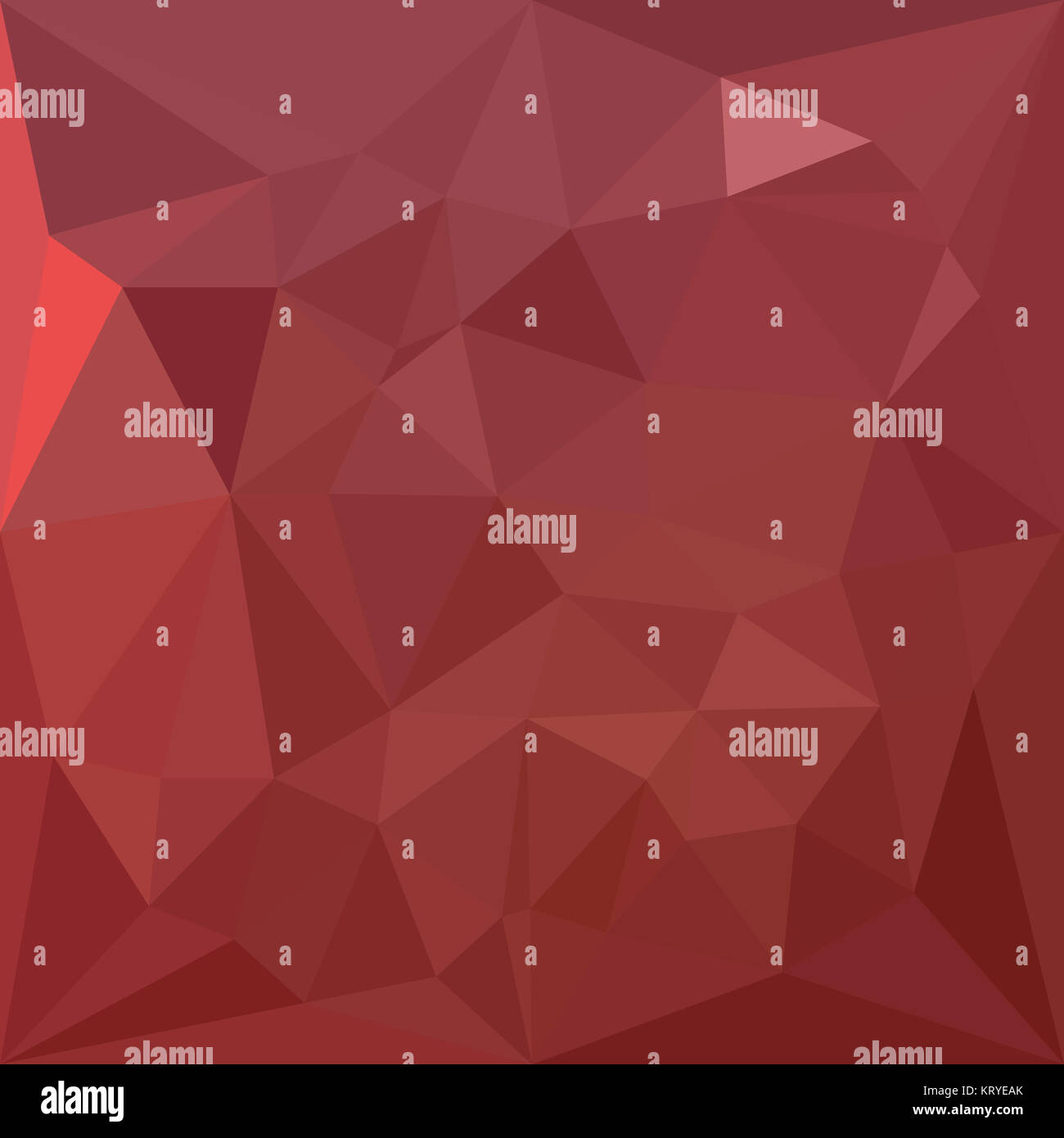 Amaranth Purple Abstract Low Polygon Background - Stock Image