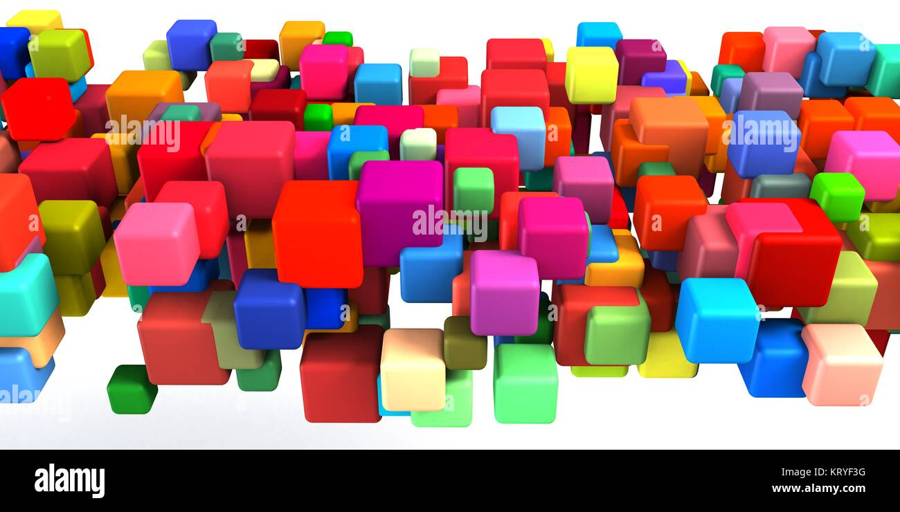 Abstract Colorful Background - Stock Image
