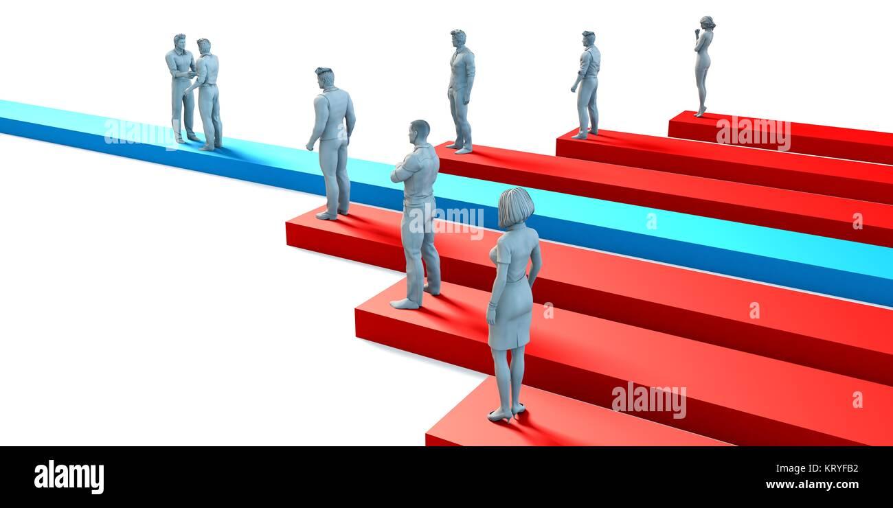 Employment Job Hiring Concept - Stock Image